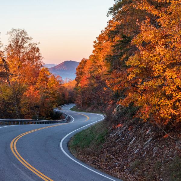 Virginia fall foliage