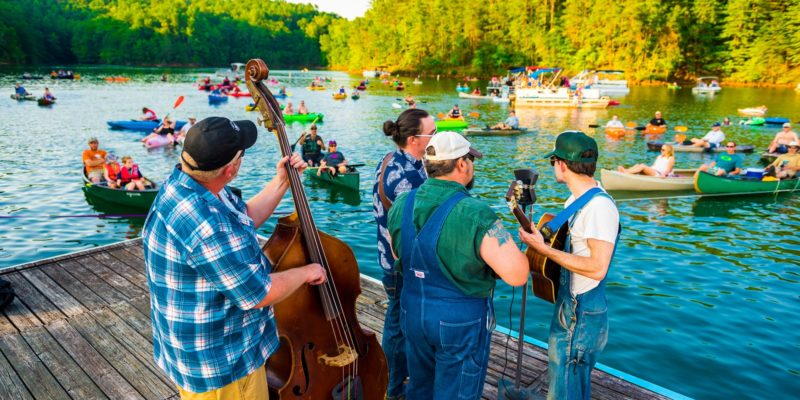 Concerts by Canoe